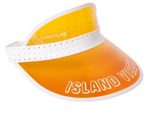 Sunnylife island vibes orange visor