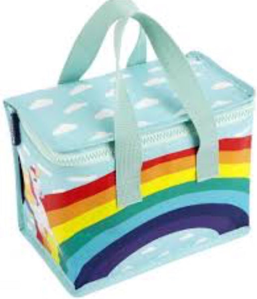 Sunnylife rainbow unicorn insulated lunch bag
