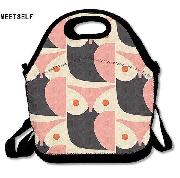 Owl wet suit lunch bag