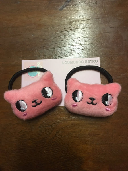 Plushie hair ties - choose design