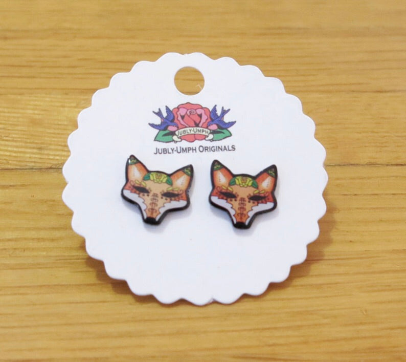 Jubly umph fox earrings
