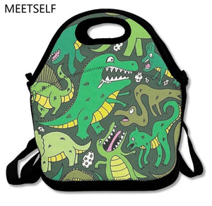 Dinosaurs lunch bag