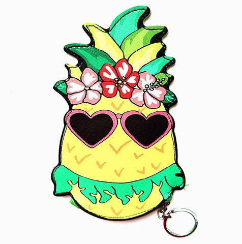 Hawaiian Pineapple coin purse
