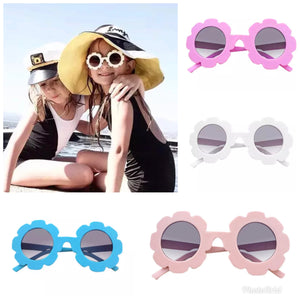 Children's flower sunglasses choose colour