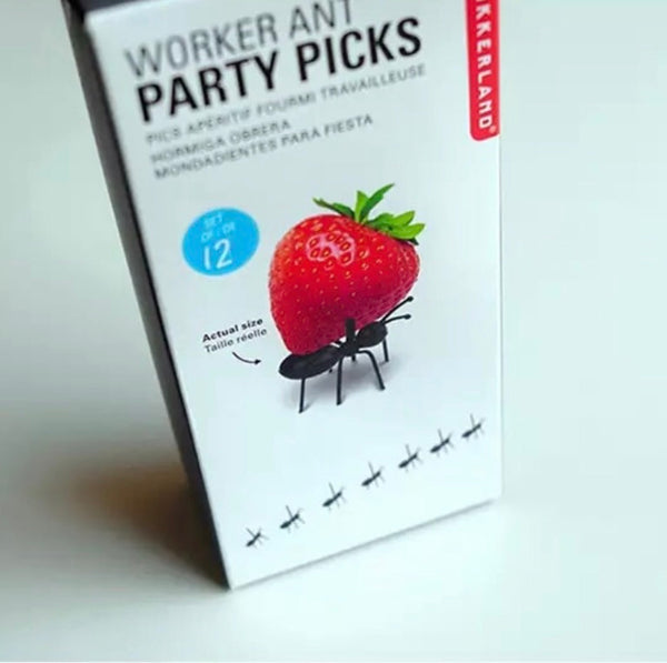 Ant party food picks