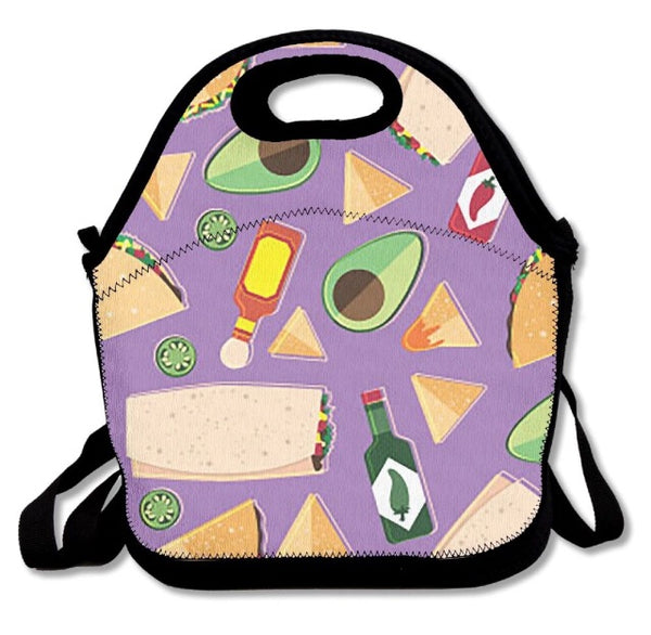 Mexican food lunch bag