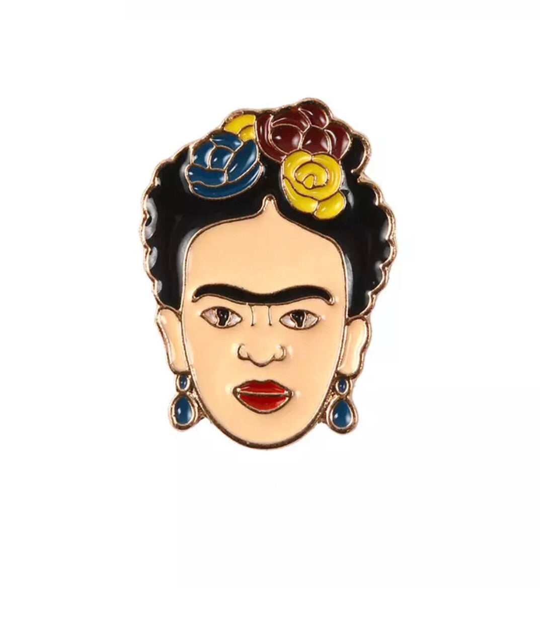 Frida pin brooch