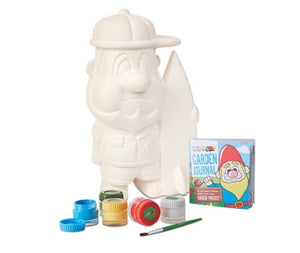 Wippers surfer gnome plaster paint set