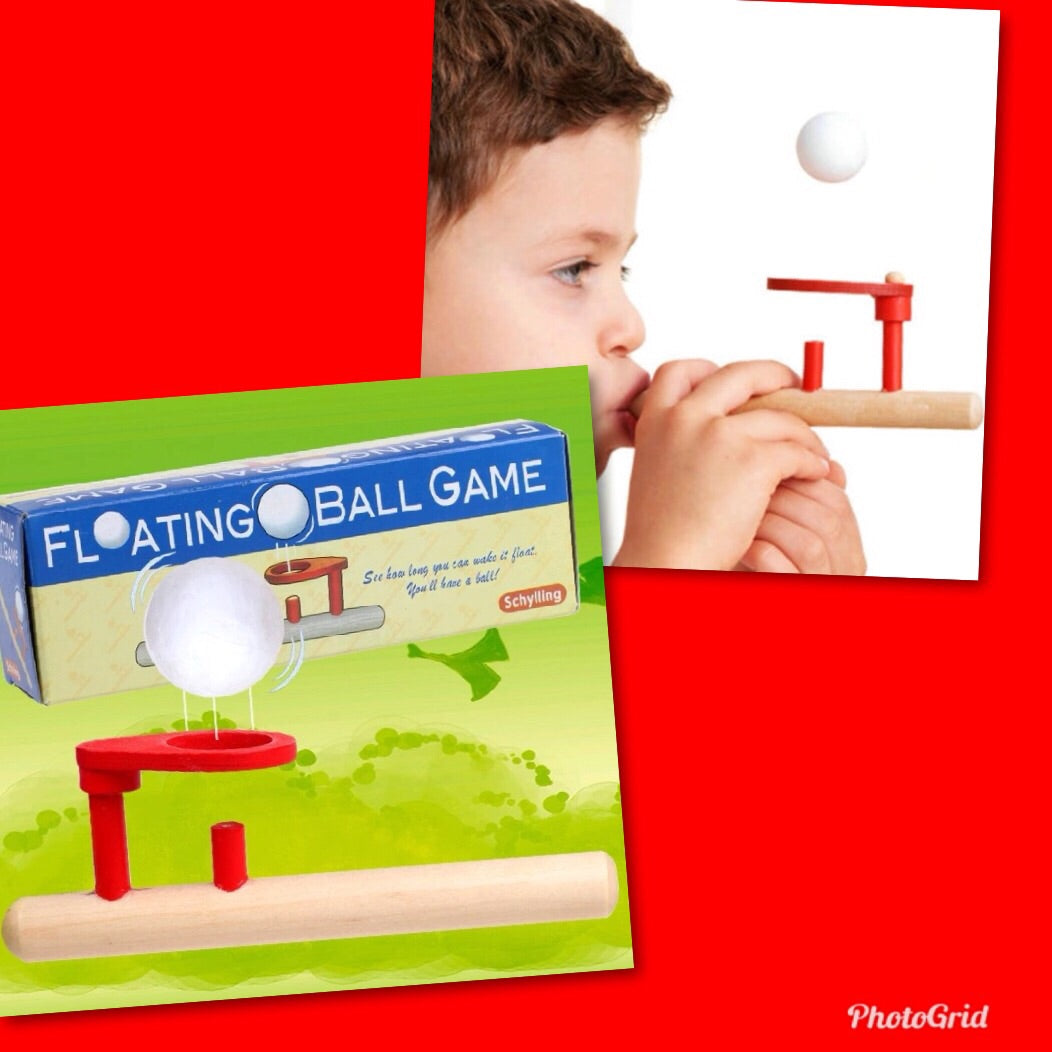 Vintage floating ball game