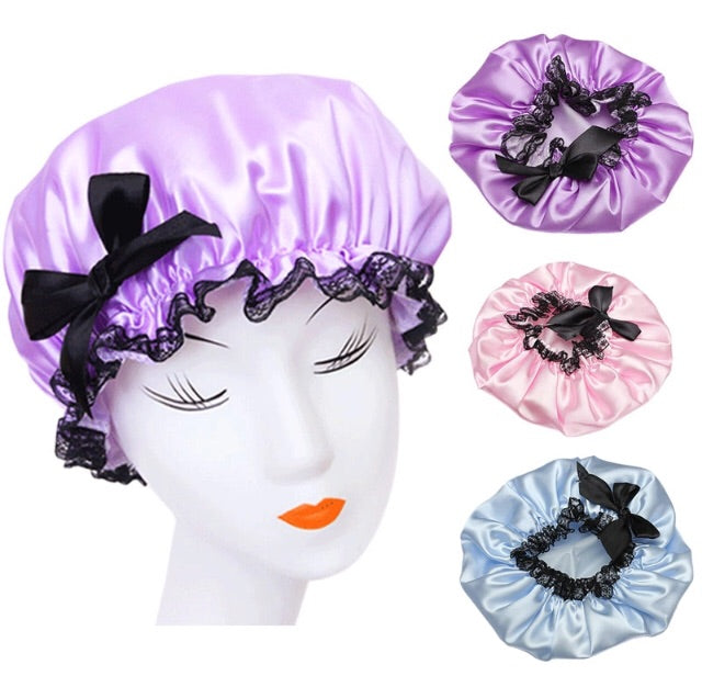 Retro shower cap choose from 3 colours