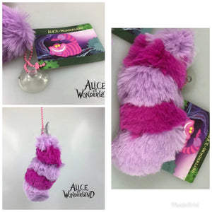 Cheshire cat stick on window fluffy tail