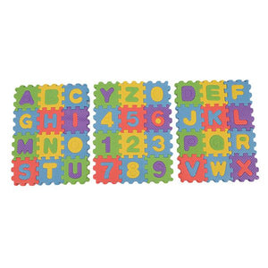 small Alphabet & Numerals Baby Play Soft Foam Mat puzzle