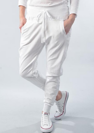 Once Was - Members Tie Waist Relaxed Pant
