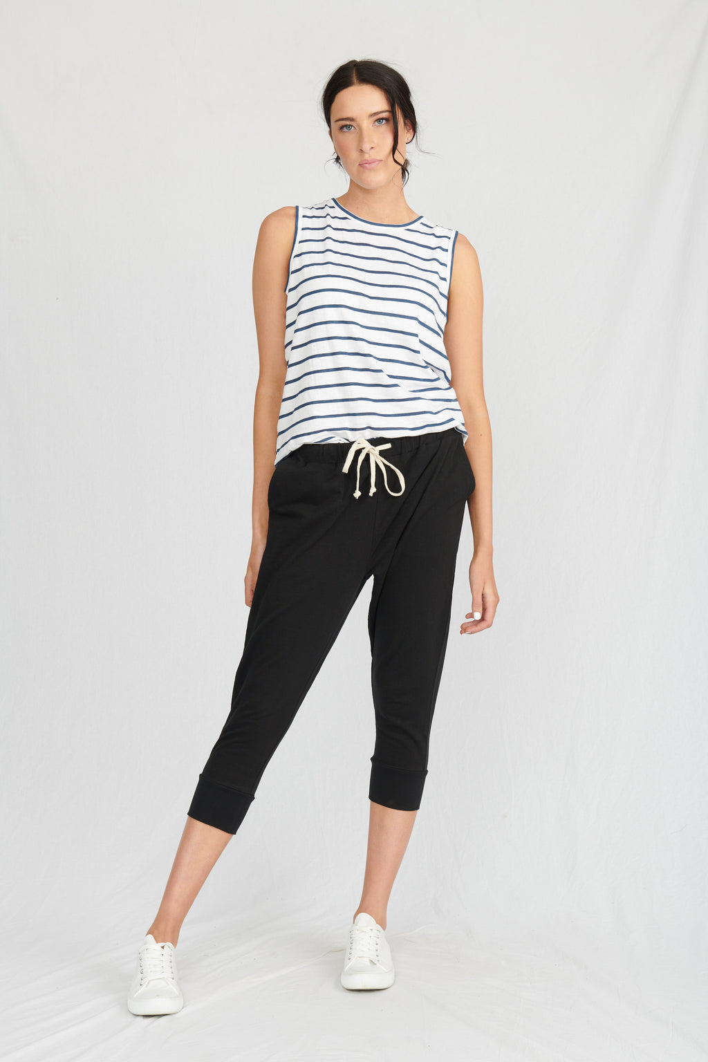 Lulu Organics Cotton Essentials - Santa Monica Pant Black