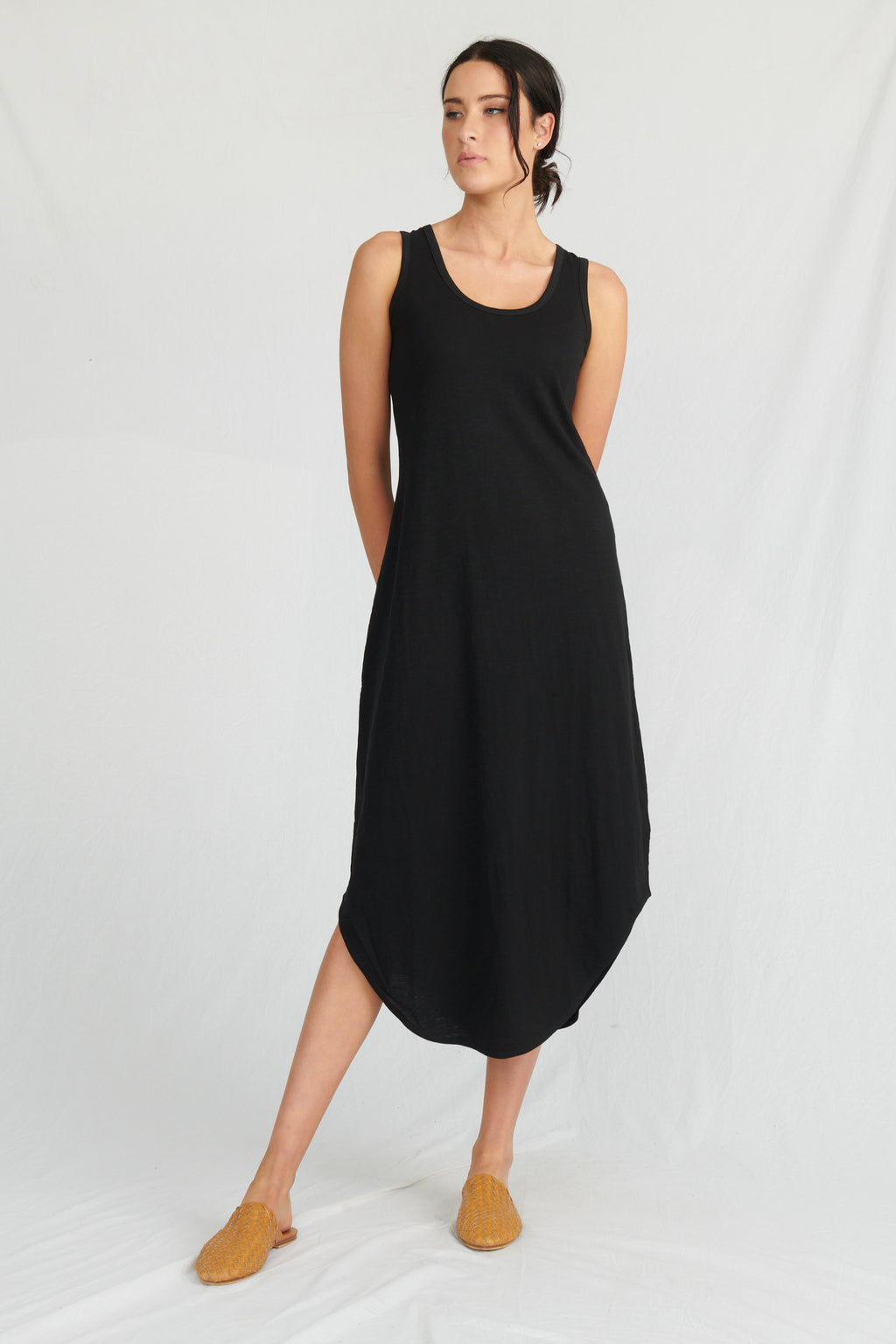 Lulu Organics Cotton Essentials - Hamptons Dress Black