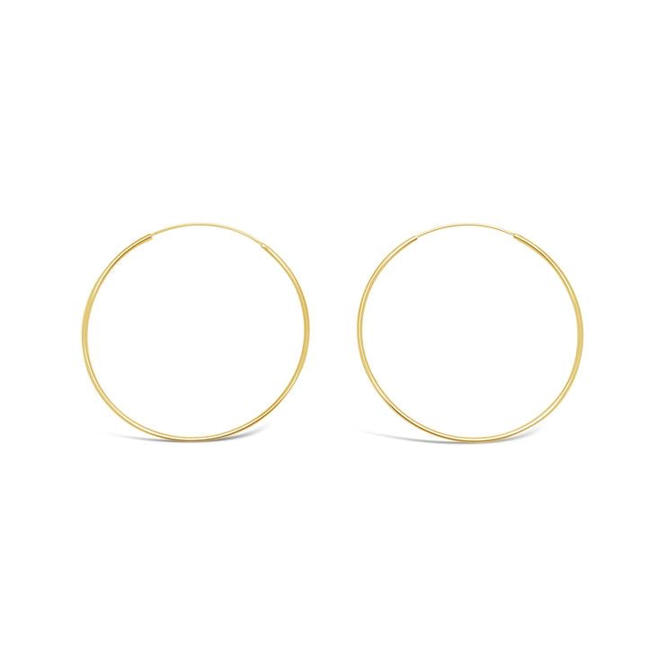 Ichu Jewellery - Fine Gold Hoops