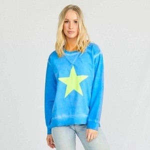Stardust Crew - Space Age Sweater in Summer Blue