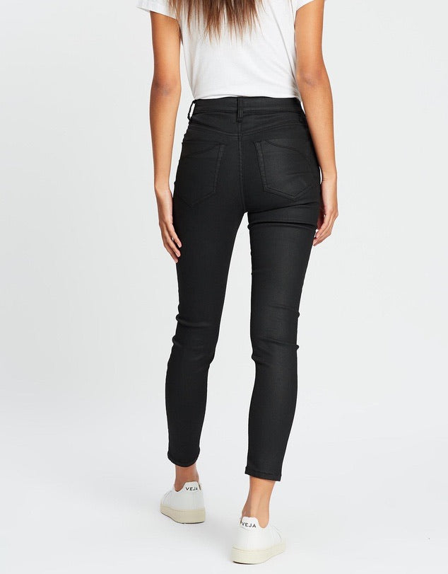 Dricoper - DCD Hi Black Coated Jeans