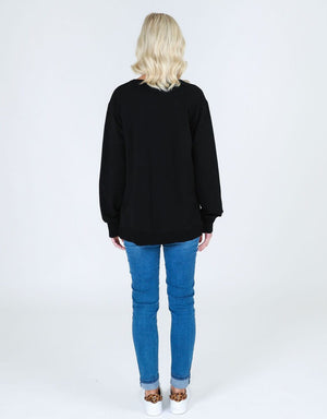 3rd Story - Ulverstone Sweater in Black