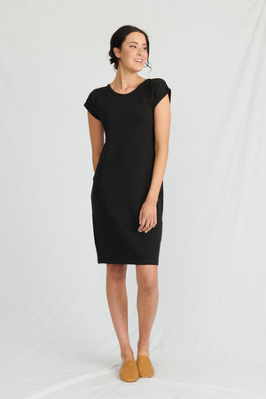 Lulu Organic Cotton Essentials - Malibu Dress Black