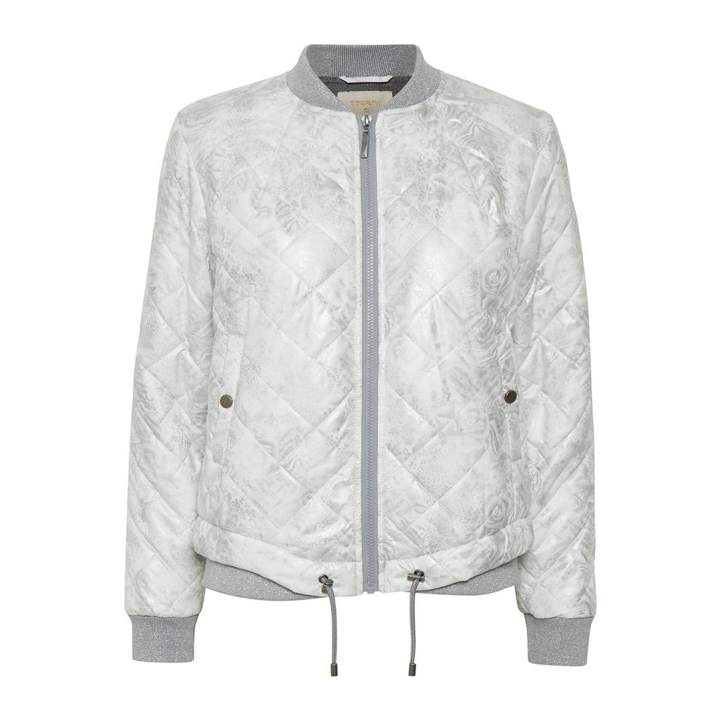 CREAM AUDRINA BOMBER JACKET 10603038