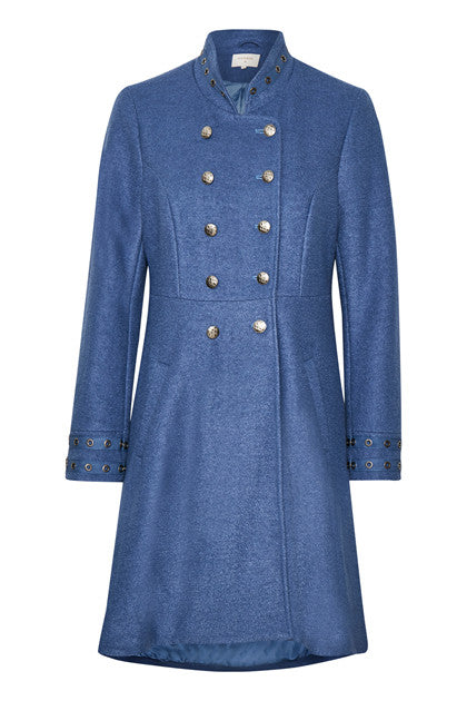 CREAM ANNABELL SPRING COAT 10604233 BLUE