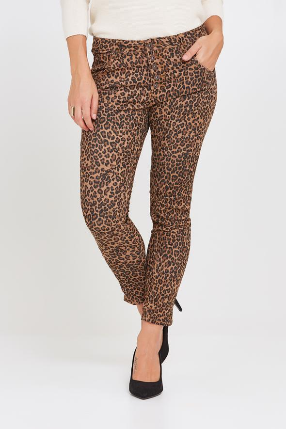BIANCO PEACH BLOSSOM BROWN LEOPARD