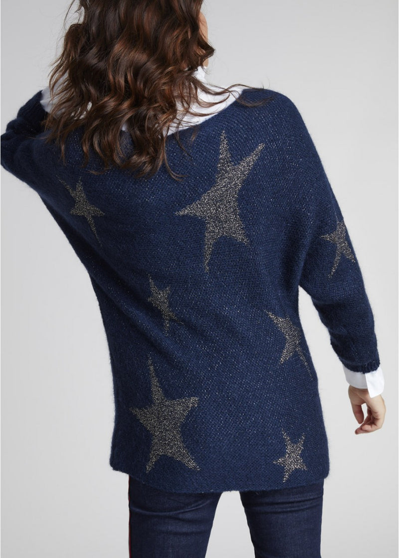 LAUREN VIDAL STAR KNIT