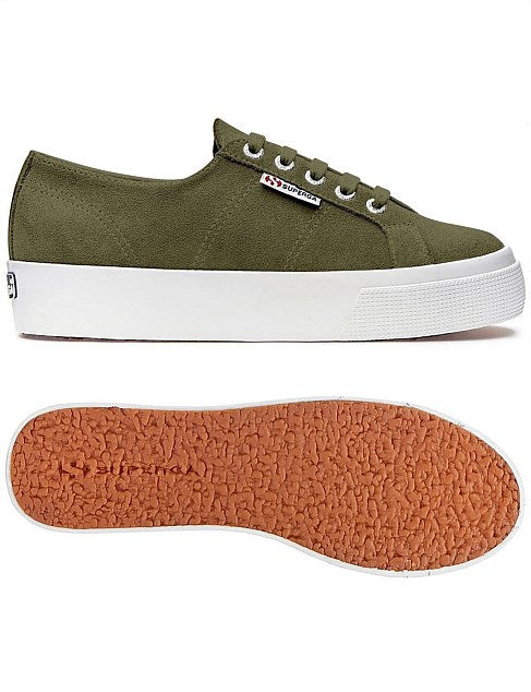 SUPERGA GREEN WOOD