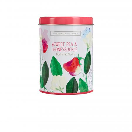 SWEETPEA & HONEYSUCKLE BATHING SALTS