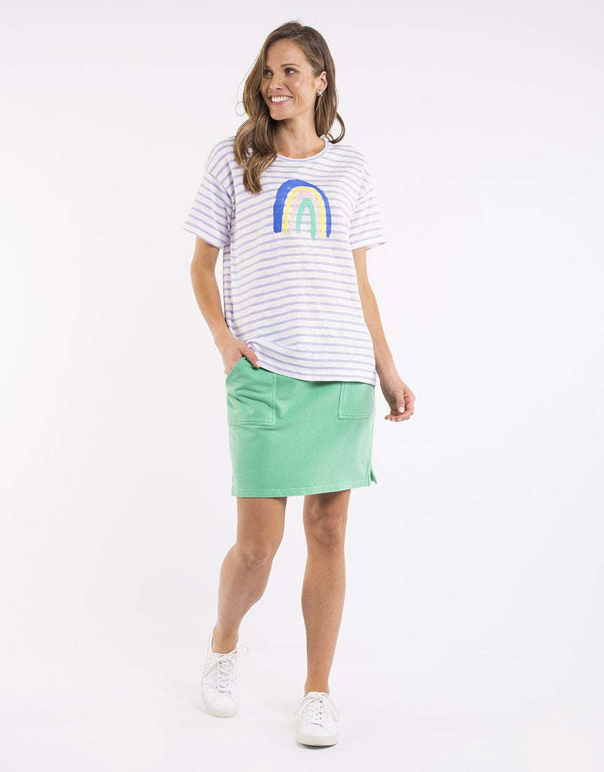 ELM - OVER THE RAINBOW TEE - LILAC