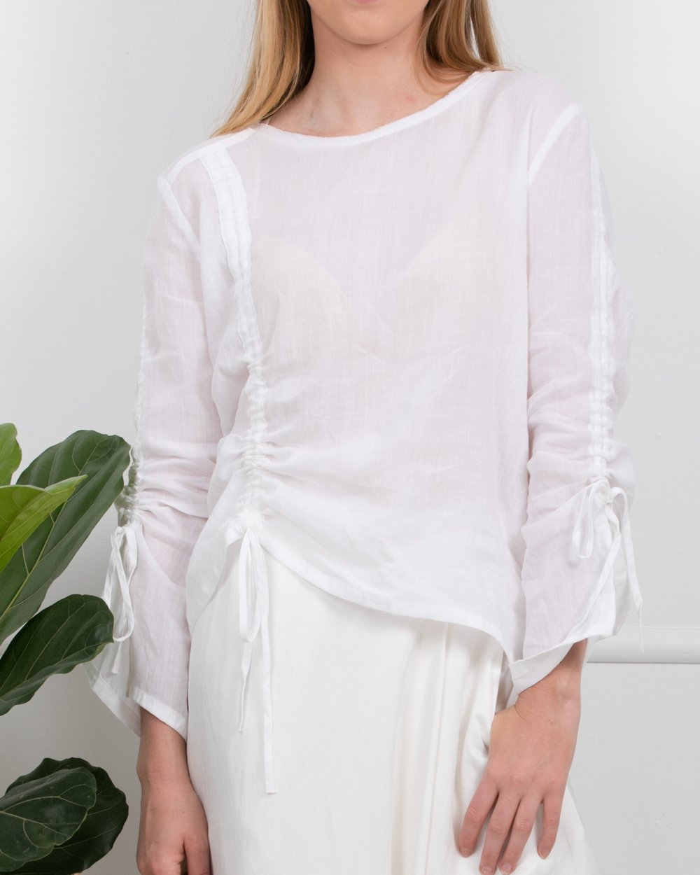 ZK WINK TOP WHITE