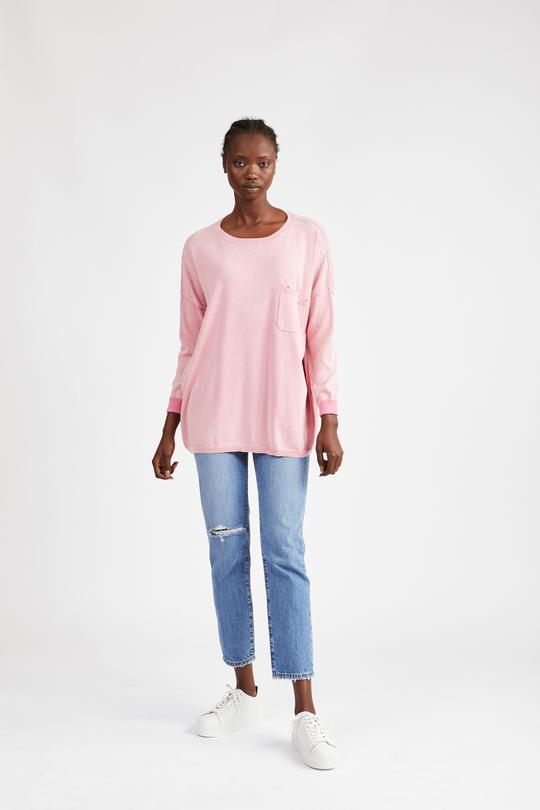 KINNEY ABBOTT KNIT ROSE PINK