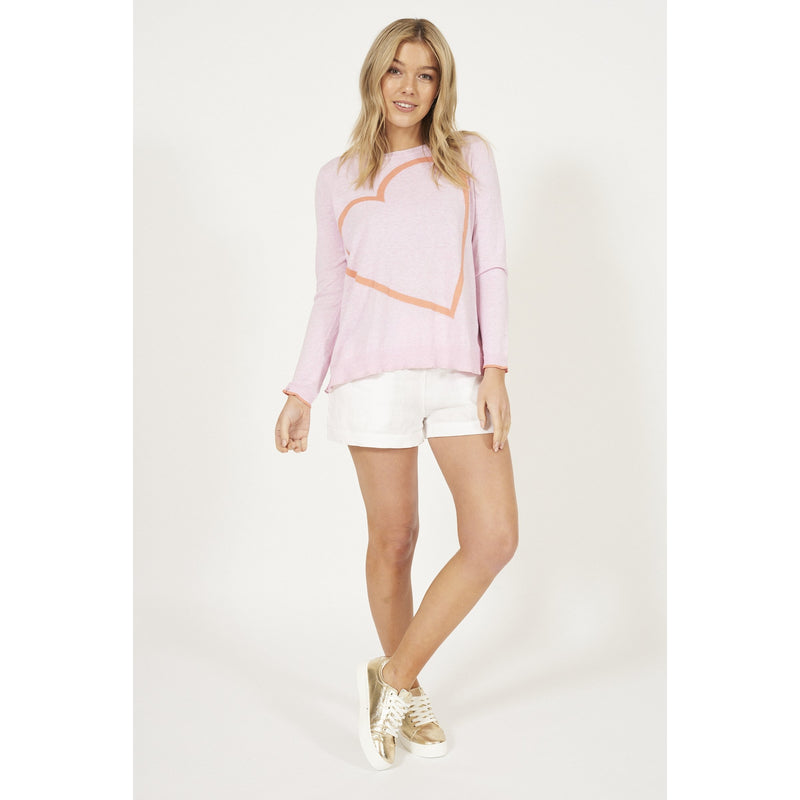 ALESSANDRA BIG HEART SWEATER