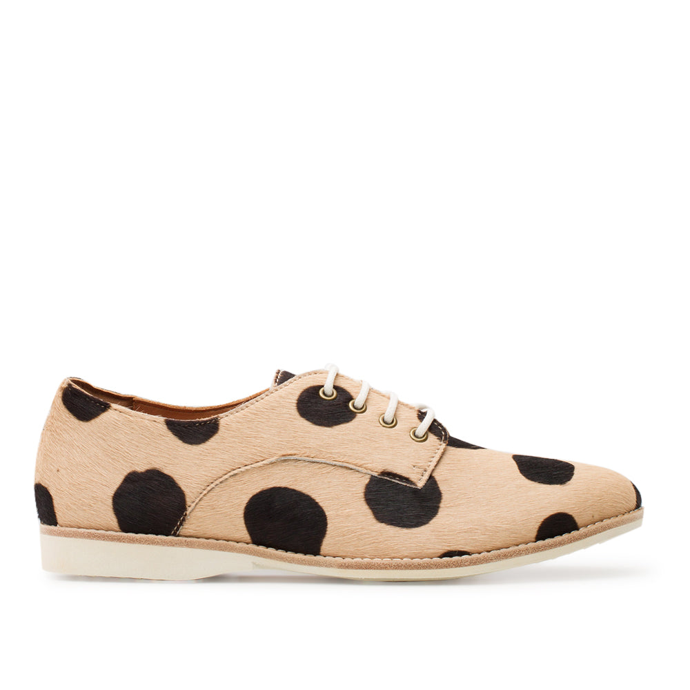 ROLLIE DERBY BEIGE BLACK SPOT