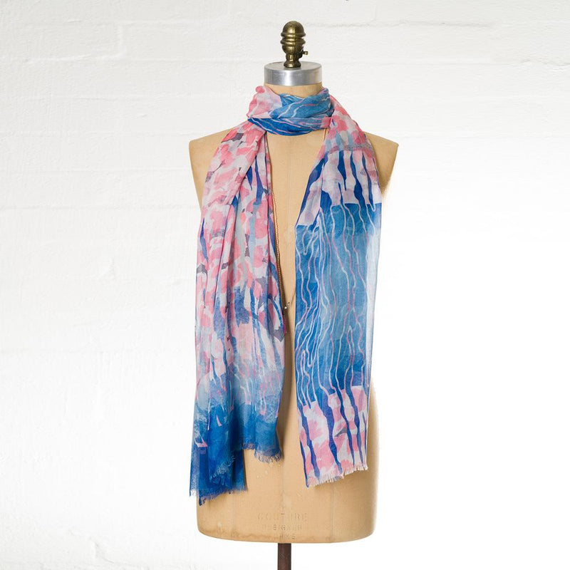 LEE GARRETT WATER MARKS SCARF