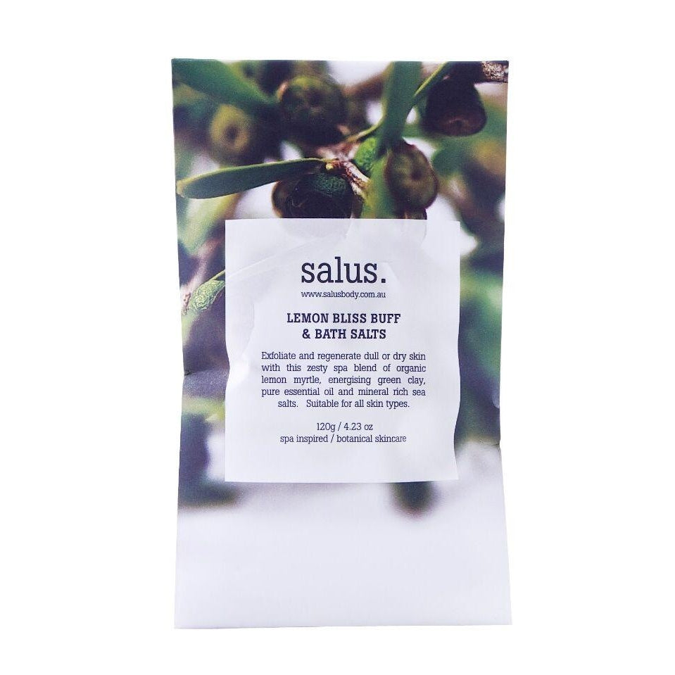 SALUS LEMON BLISS BATH SALTS SACHET