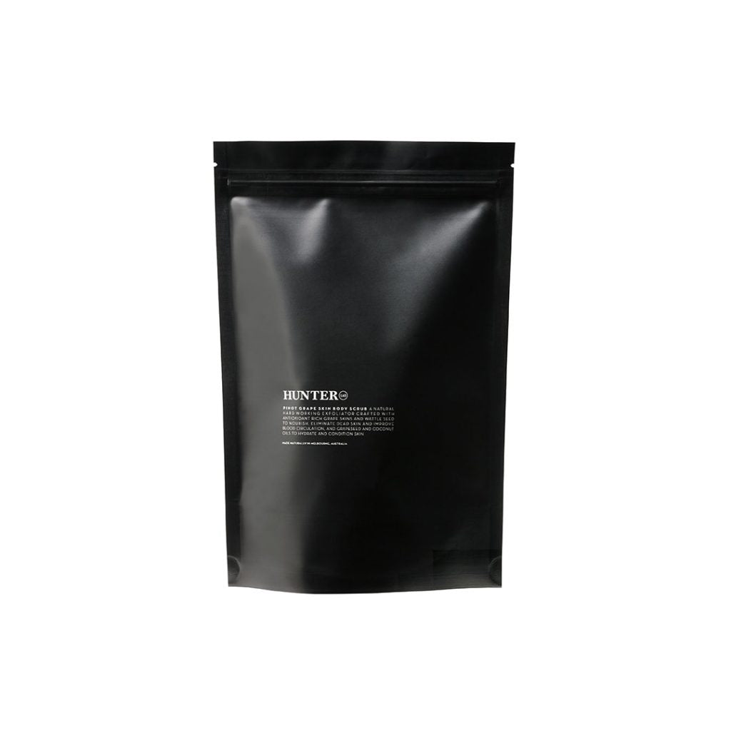 HUNTER PINOT GRAPE SKIN BODY SCRUB