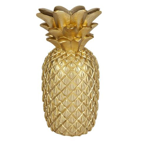SUNNYLIFE GOLD PINEAPPLE CANDLE LARGE