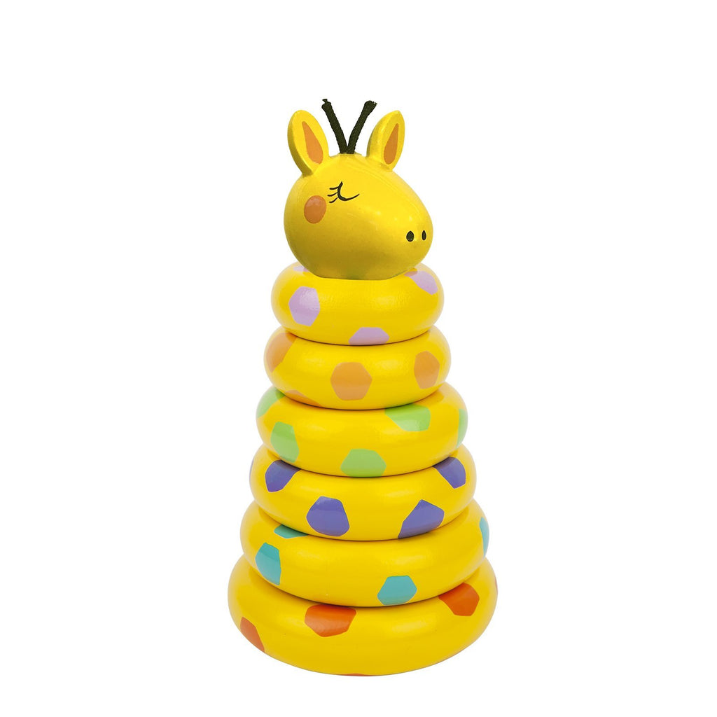 SUNNYLIFE GIRAFFE STACKINGTOY