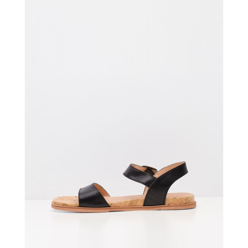 ROLLIE SANDAL BLACK