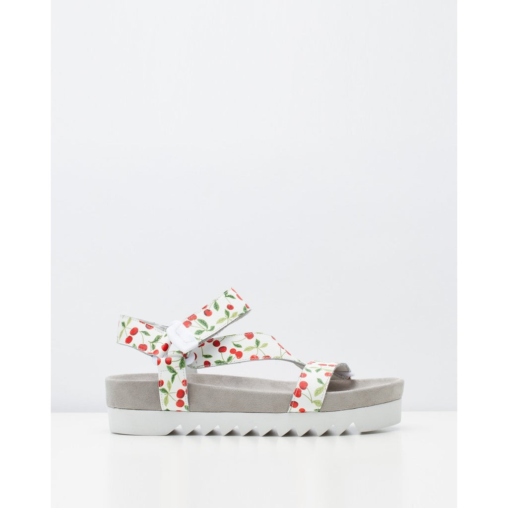 ROLLIE SANDAL TOOTH WEDGE CHERRY