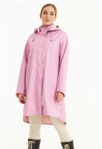 ILSE JACOBSEN LIGHT DETACHABLE HOOD COAT