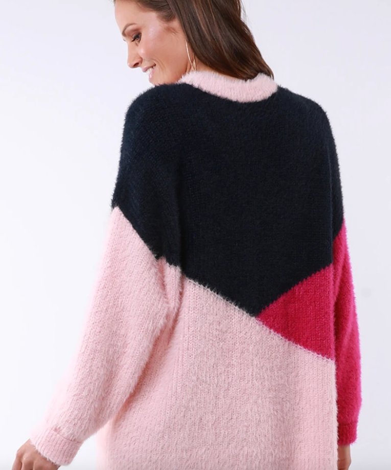ELM LIFESTYLE MAGGIE PANEL KNIT