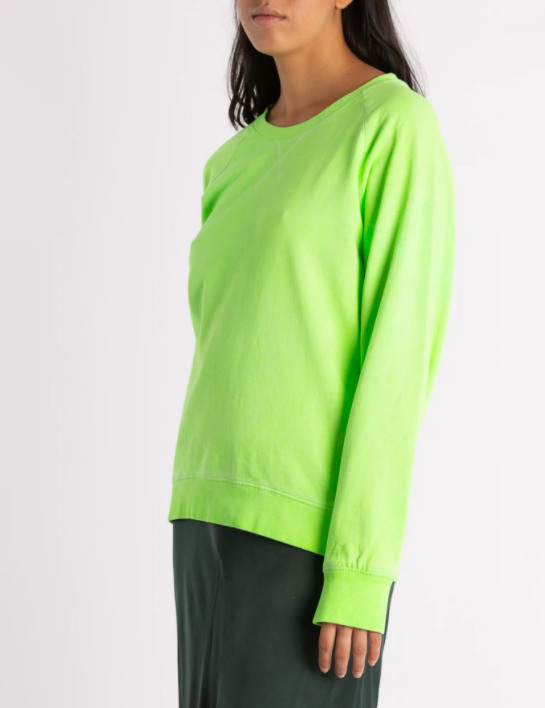 MY IZZI BRIGHT LIME SWEATER