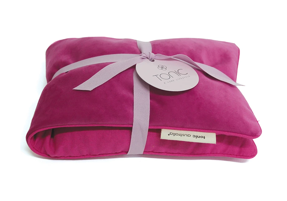 TONIC VELVET HEATING PILLOWS (MORE COLOURS)
