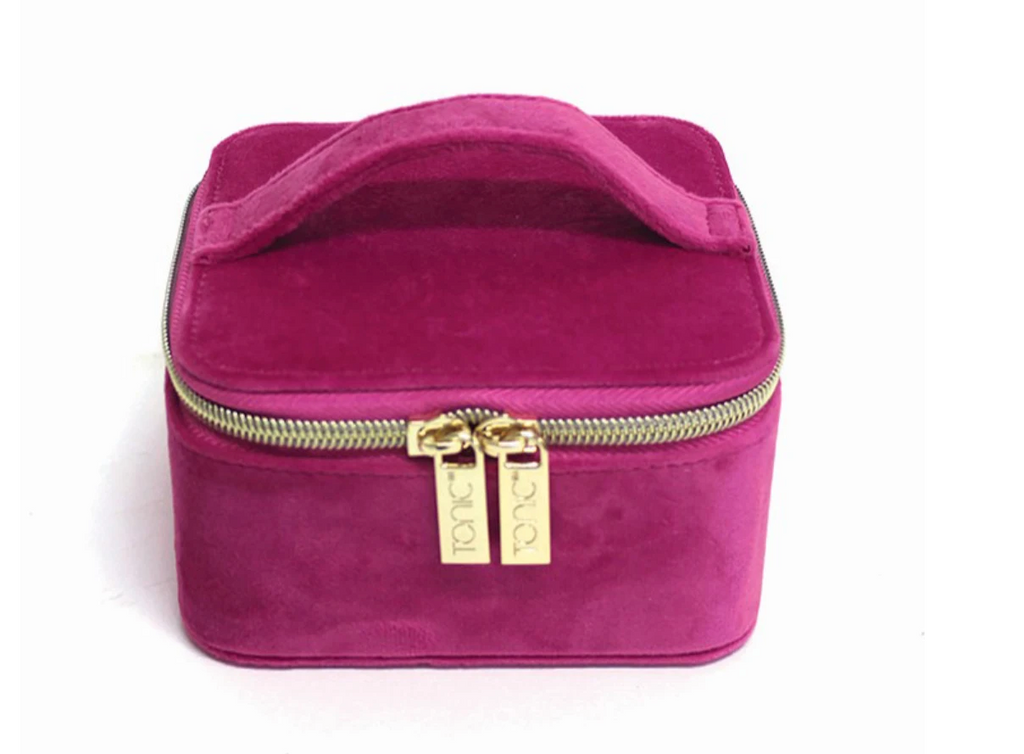 TONIC LUXE VELVET JEWELLERY CUBE (MORE COLOURS AVAIL)