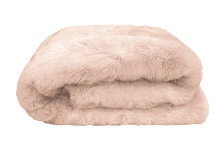 BAMBURY FAUX FUR THROW