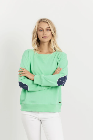 EST 1971 WINDY APPLE GREEN OLD NAVY