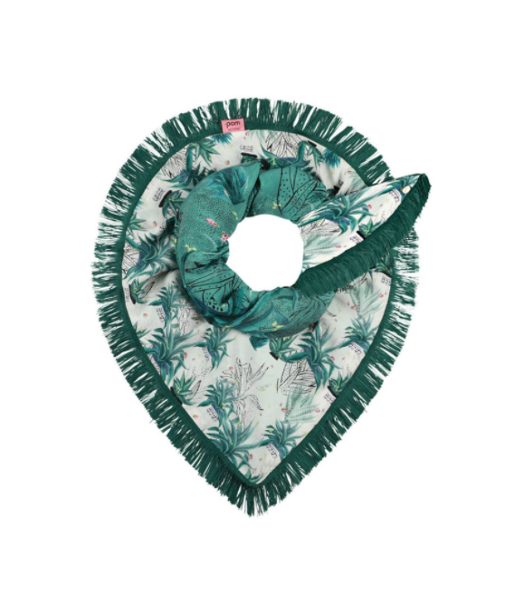 POM TEQUILA FUN DOUBLE SIDE SCARF